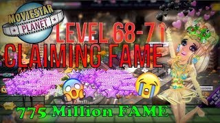 MSP CLAIMING FAME - 775 MIO FAME + LEVEL 71 WTF!!!😱😱