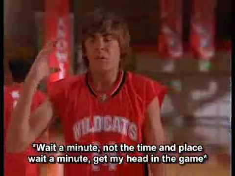 HIGH SCHOOL MUSICAL - GET'CHA HEAD IN THE GAME LYRICS