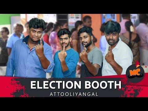 Election BOOTH Attooliyangal #15 | Ft. Arun & Rahul | MadrasCentral