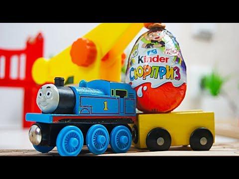 """видео: Видео с игрушками из мультфильмов """"Томас и его друзья"""" и """"Бен 10"""""""