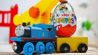 """Видео с игрушками из мультфильмов """"Томас и его друзья"""" и """"Бен 10"""""""