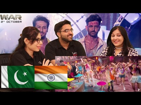 Jai Jai Shivshankar Song | War | Hrithik Roshan | Tiger Shroff | PAKISTAN REACTION