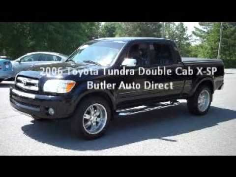 2006 Toyota Tundra Double Cab X-SP Butler Auto Direct ...