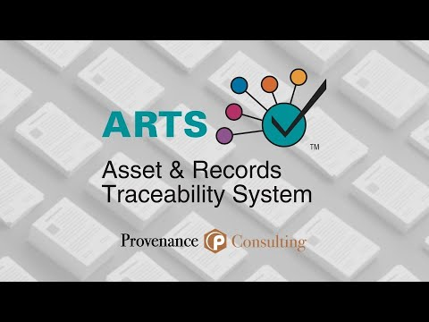 ARTS – Asset and Records Traceability System by Provenance