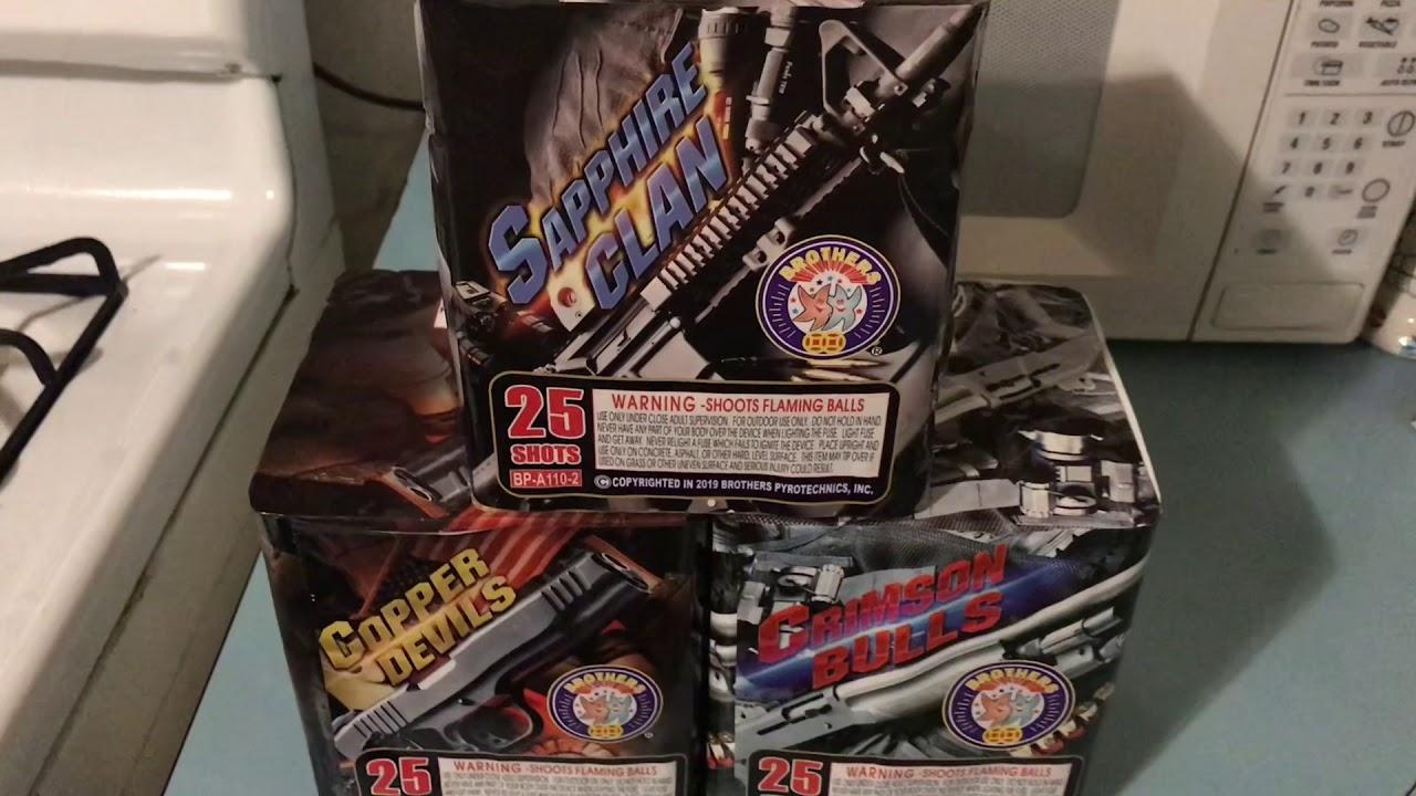 Rap Sheet Sapphire Clan - Brothers Firework Demo (part 1)