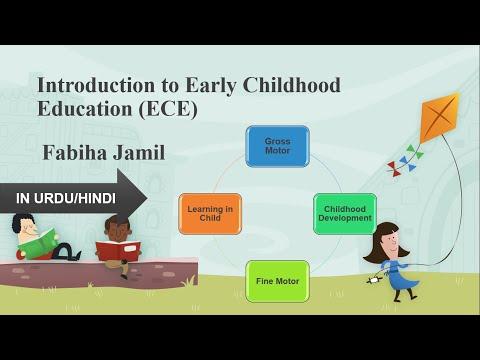 Early Childhood Education/Development in Child/ In Urdu/Hindi