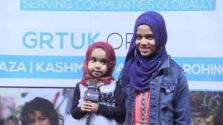 Cutie Fatima recites Surat An Naba at the UK Qur'an Tour