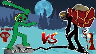 EarthQuake SUPER GIANT vs DEAD MODE | Lava Insane 👍 Stick War:Legacy