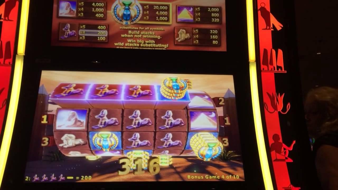 Slot machine sphinx bonus