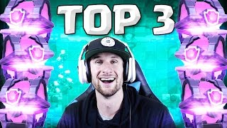 IM AT THE TOP! Clash Royale    TOP 3 IN THE WORLD!!