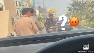 Suzuki Cultus Crazy mad driving in Faisalabad