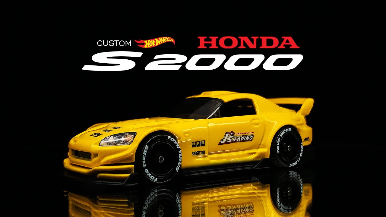 Honda S2000 Custom Hot Wheels