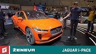 Jaguar i-PACE - elektro SUV - GARAZ.TV - Ženeva 2018