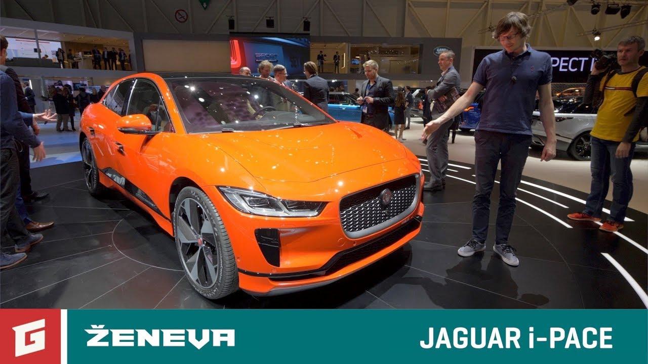 Jaguar i-PACE - elektro SUV - GARAZ.TV - Ženeva 2018 - YouTube