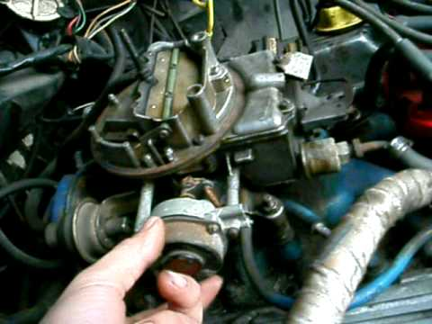 Fixin The Ford. Choke Repair, Runs Better. - YouTube