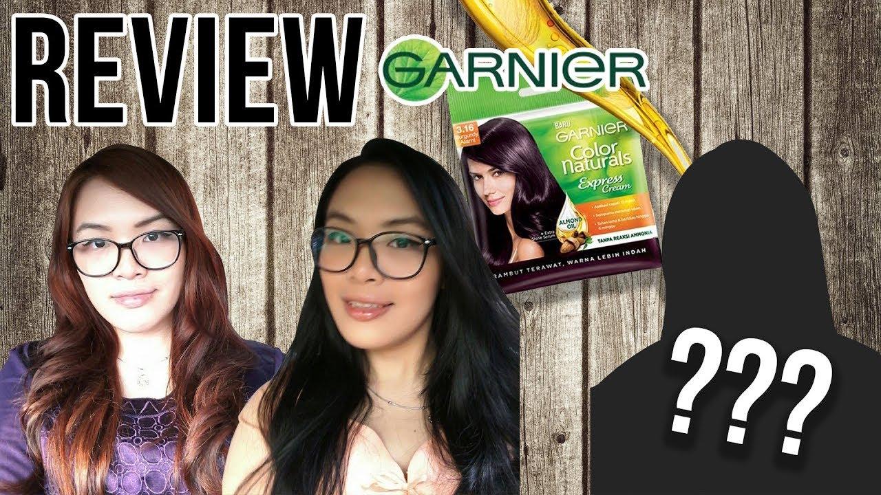 Review Garnier Color Natural Express Cat Rambut 15 Menit Youtube