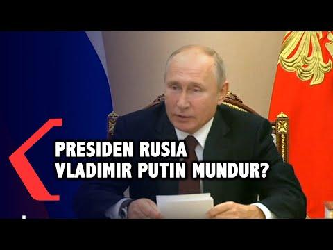 Presiden Rusia Vladimir Putin Bakal Mundur? Kenapa?