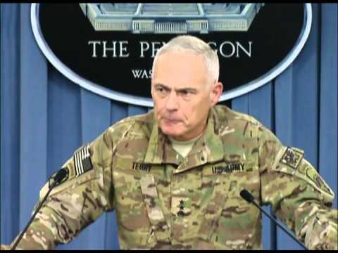 Lt  Gen  James Terry   Press Briefing