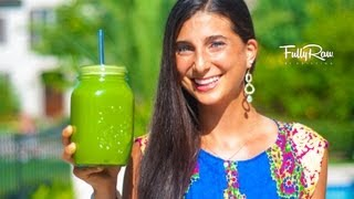 Jugo Verde para Bajar de Peso (Green Juice for Weight Loss)