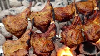 Persian Shishlik kabab / Lamb Chop Kabobs / Shish Kebab