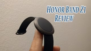 Honor band Z1 fitness tracker review