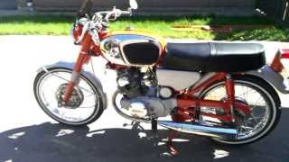 Honda CB 160 1966 Super Hawk Restoration