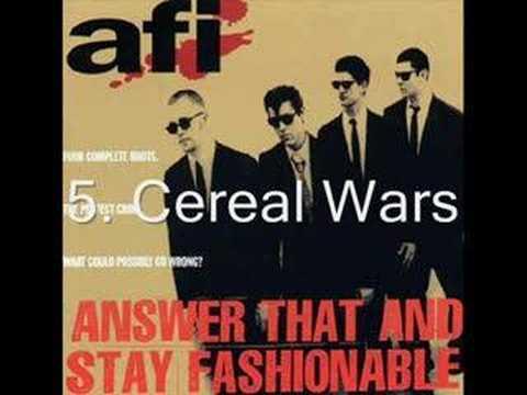 My Top Ten Favorite AFI Songs