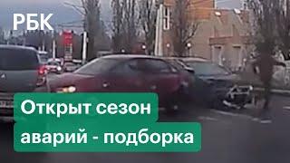 Фото «День жестянщика» в России. На дорогах — пробки и ДТП - подборка видео