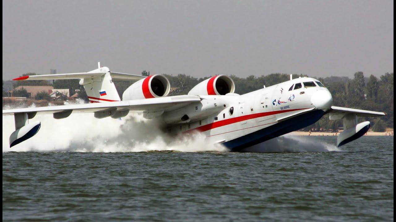 Самые Удивительные Самолеты-Амфибии в Мире
