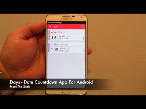 Days - Date Countdown App For Android