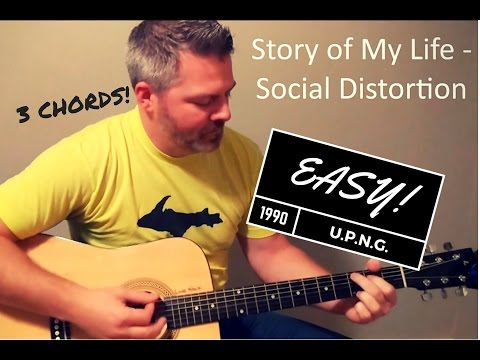 Story of My Life - Social Distortion (beginner) Guitar Lesson
