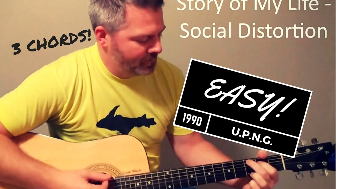 Story Of My Life Social Distortion Beginner Guitar Lesson Youtube