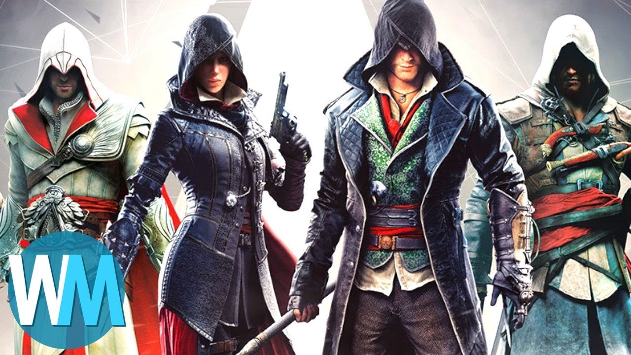 Top 10 Assassin S Creed Games Youtube
