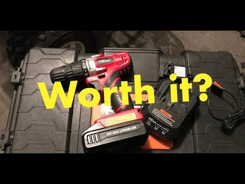 Walmart Drill Review -20v Hyper Tough-Should you buy one?