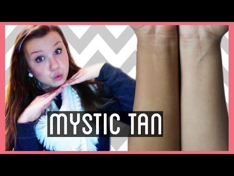 ♡ Tanning! ♡ Mystic tan