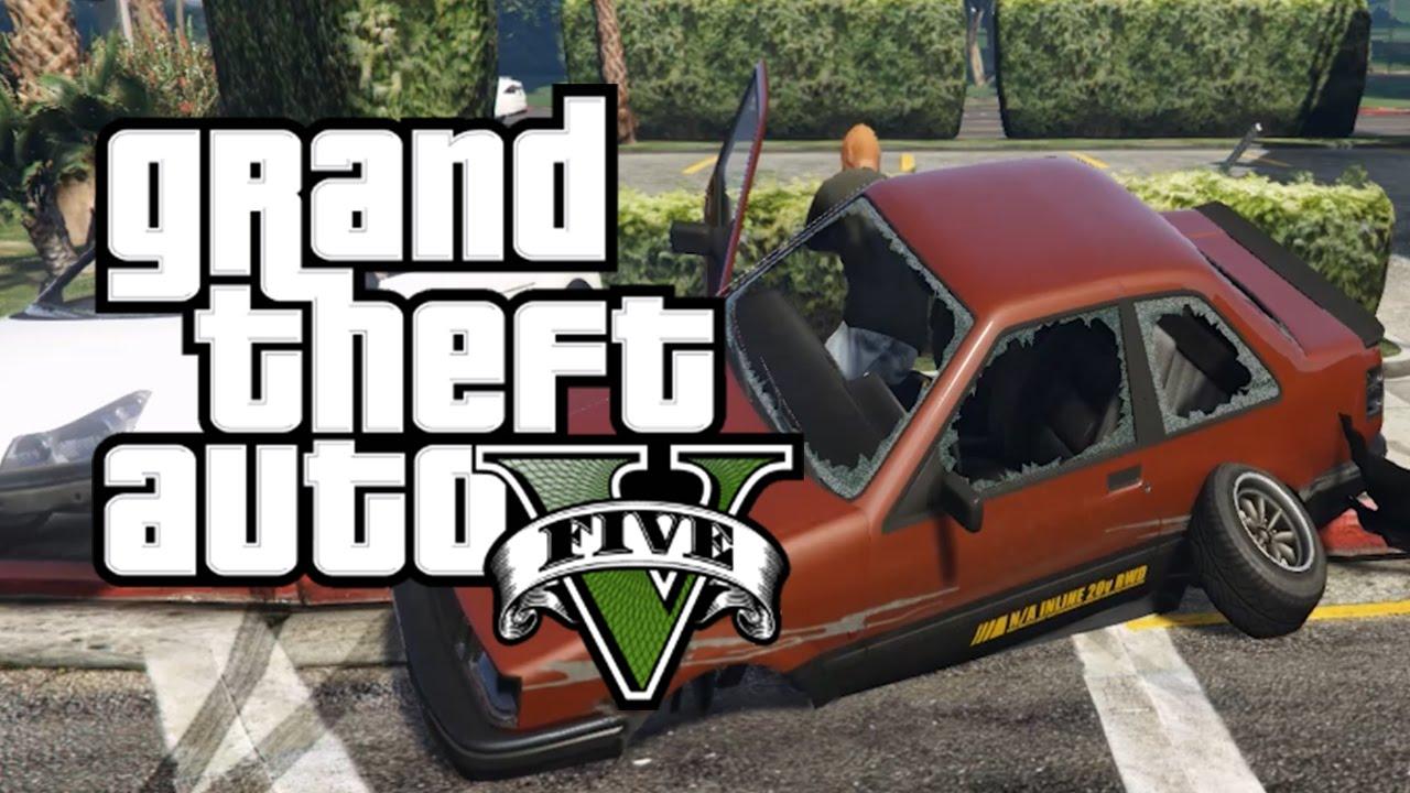 GTA 5 CAR CRASHES: EP  1 (Car Crash Compilation GTA 5)