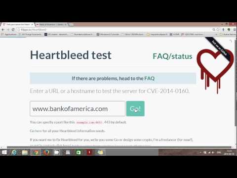 Fixit How to test websites for heartbleed bug