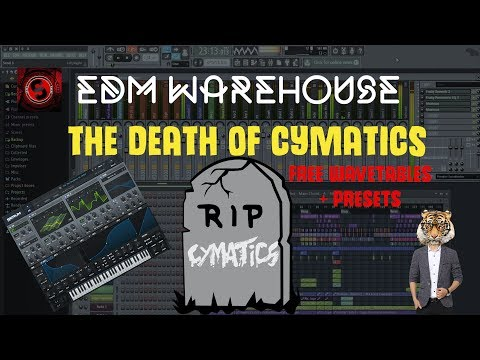 THE DEATH OF CYMATICS Free Hybrid Trap Serum Wavetables and Presets + Free Download