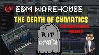 THE DEATH OF CYMATICS|Free Hybrid Trap Serum Wavetables and Presets + Free Download