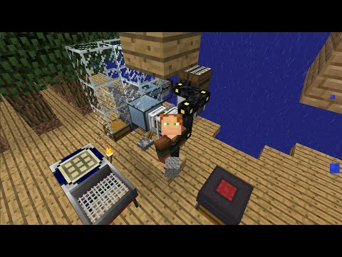 FTB Infinity Expert Skyblock - Ep 6 - EU to RF Power?