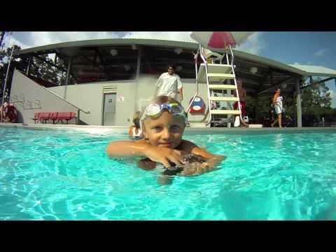 My 1 & 2 Year-old Swimming At Crawfish Aquatics