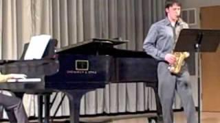 Movement 4: Handel Sonata Op.1, No. 13, arranged for Alto Saxophone and Piano