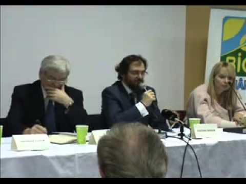 Dl Marian Ciocianu Presedinte Asociatia Bio Romania Romanian Organic Forum 2010