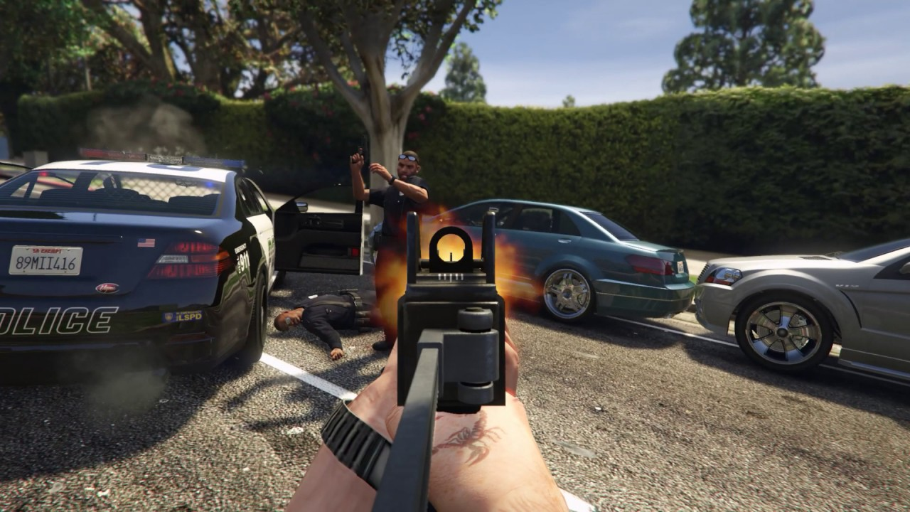 gta 5 first person mod pc download
