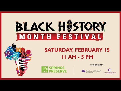 Black History Month Festival, Feb. 15, 2020