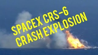 Space X CRS-6 Explosion [Leaked video!]