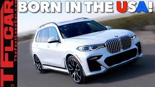 The 2019 BMW X7 is a Pricey Big Boy 3-Row Family Hauler with Autobahn Manners on American Roads!