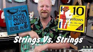 Strings Vs. Strings