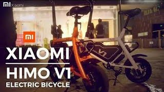 Xiaomi himo v1 bike or smartcycle full specifications and info by science tech