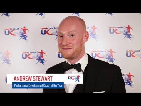 UK Coaching Awards 2015  Andrew Stewart named Performance Development Coach of the Year